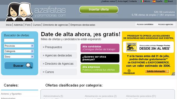 AzafatasYpromotoras.com