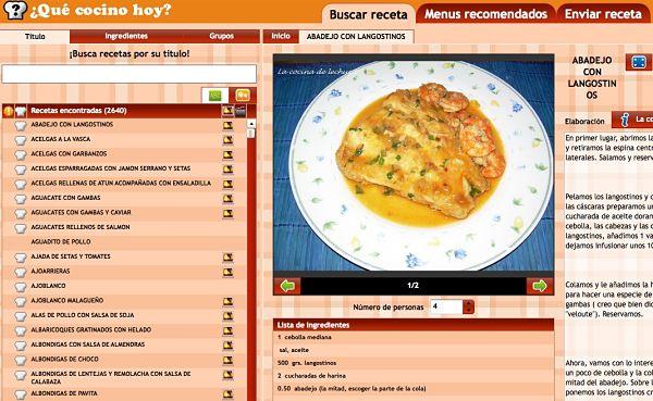 Qu cocino hoy ideas y recetas para cocinar desde casa for Resetas para cocinar