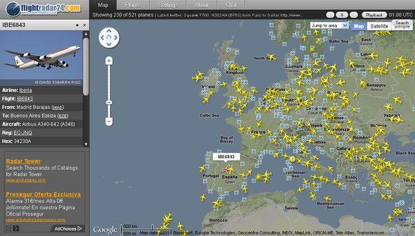 Flightradar24 Sigue En Vivo El Tráfico Aéreo De Todo El Mundo