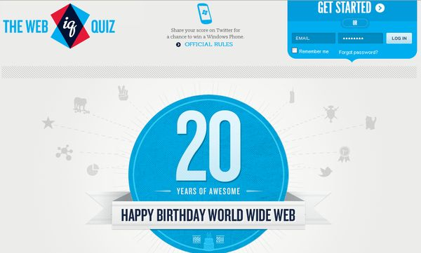 The Web IQ Quiz
