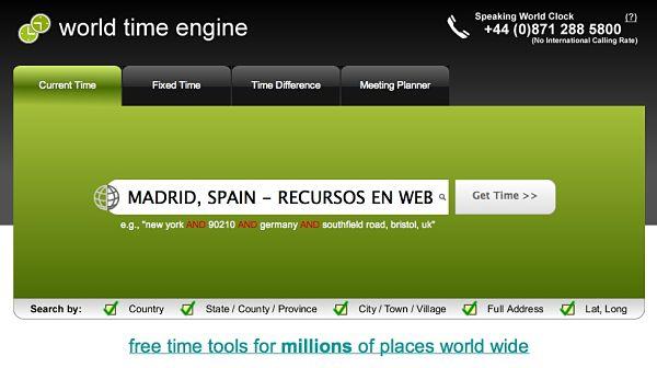 World Time Engine