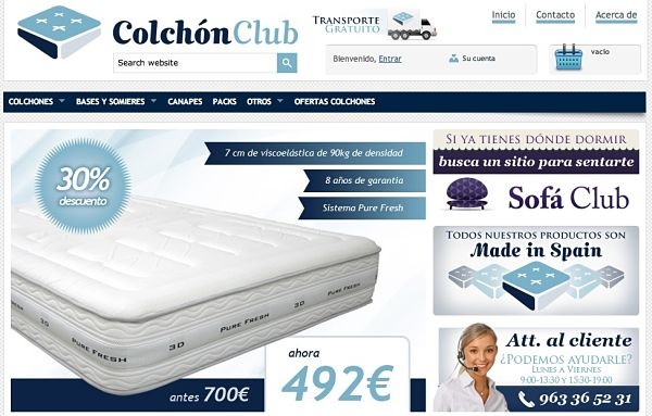 Colchón Club