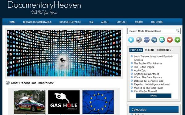 Documentary Heaven documentales
