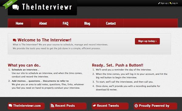 TheInterviewr entrevistas trabajo
