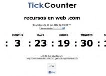 TickCounter cronómetro
