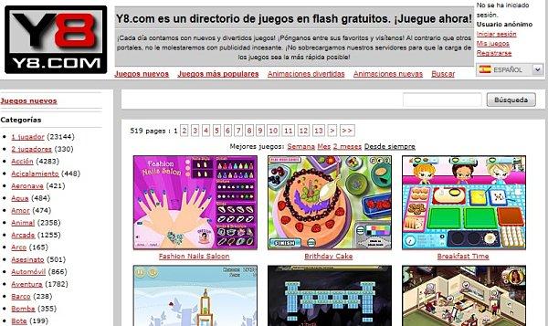 Y8 Com Impresionante Directorio De Juegos Online Gratuitos