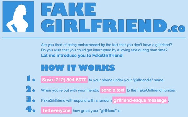 FakeGirlfriend