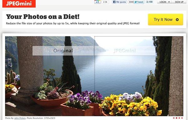 JPEGmini reducir imagenes sin perder calidad