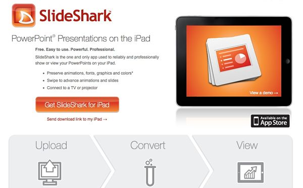 SlideShark powerpoint ipad