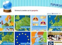 Toporopa juegos geografía
