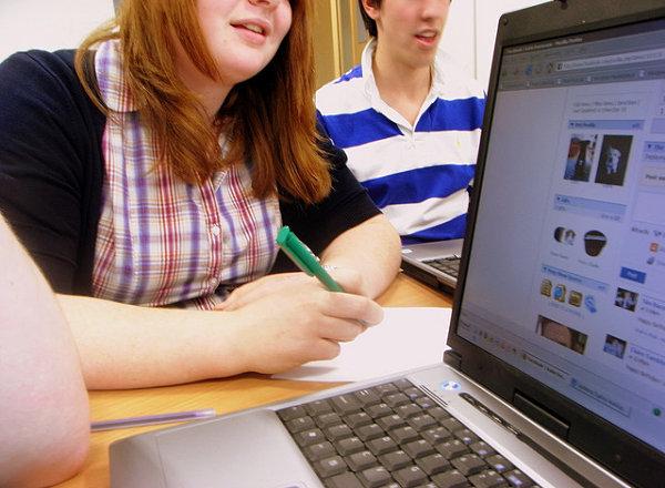 redes sociales estudiantes