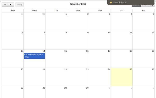 Donecal calendario
