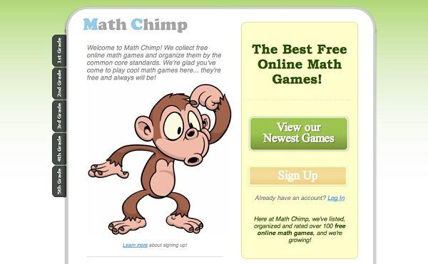 Math Chimp juegos aprender matematicas