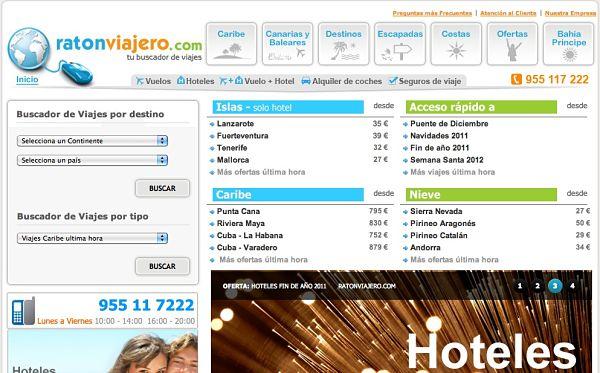 Ratonviajero ofertas hoteles viajes