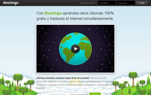 Duolingo idiomas