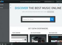 ExFM musica online