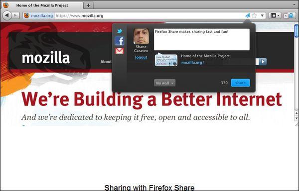 Firefox Share