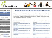 FitnessBliss gimnasio online