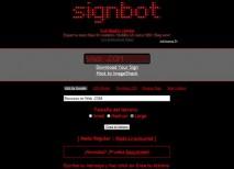Signbot