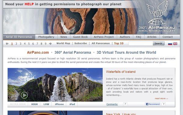 AirPano fotos panoramicas 360