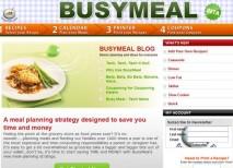 BusyMeal recetario comidas