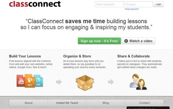 ClassConnect lecciones alumnos