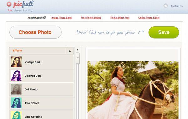 Picfull editar imagenes online