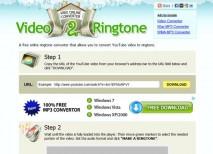 Video2Ringtone youtube
