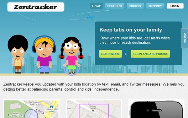 Zentracker ubicacion hijos