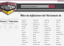 Definitions significado pronunciacion