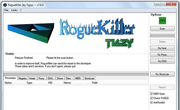 RogueKiller antivirus