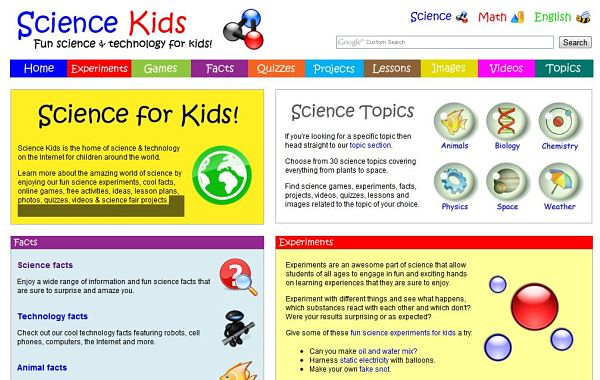 Science Kids experimentos niños