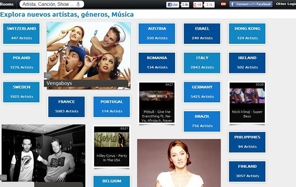 YouZeek musica gratis
