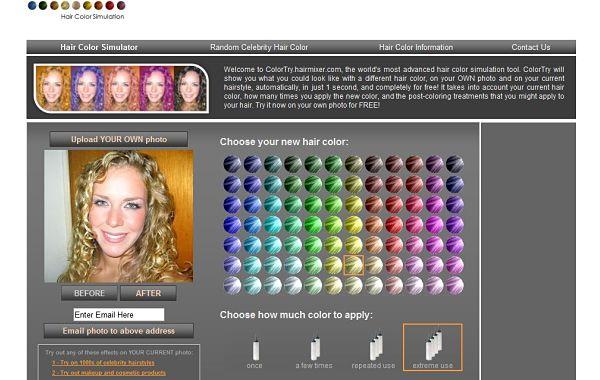 ColorTry probar colores cabello
