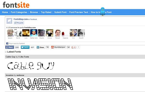 Fontsbay fuentes tipograficas