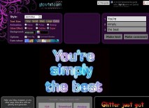 Glowtxt textos animados