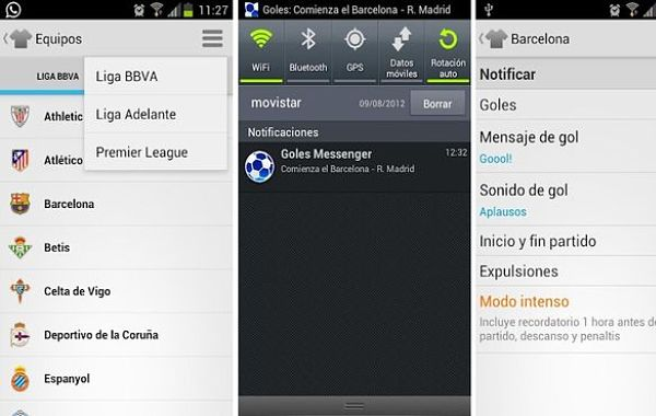 Goles Messenger futbol