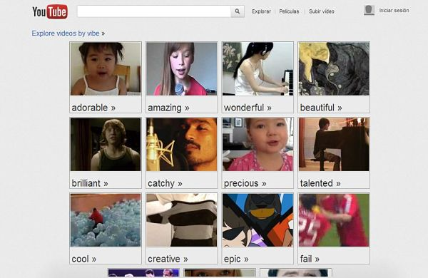 YouTube Moodwall videos