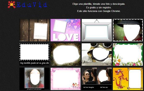 EduVid fotomontajes