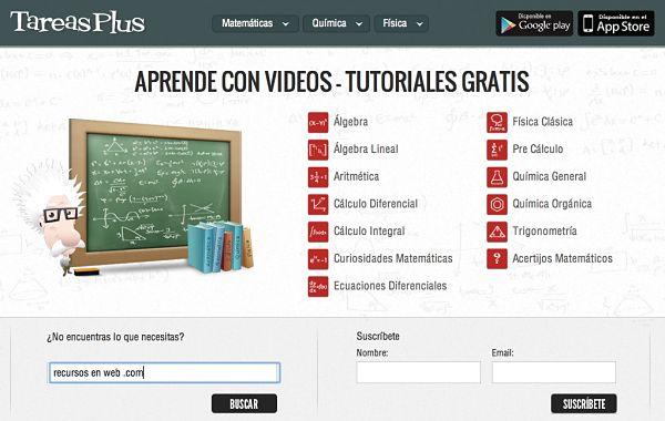 tareasplus tutoriales video