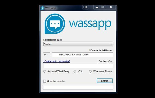 wassapp whatsapp pc