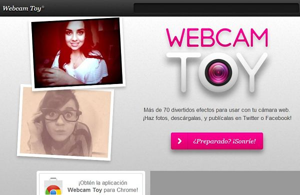 Webcam Toy efectos fotos webcam