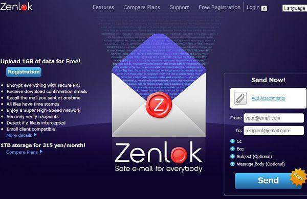 Zenlok alojar enviar archivos