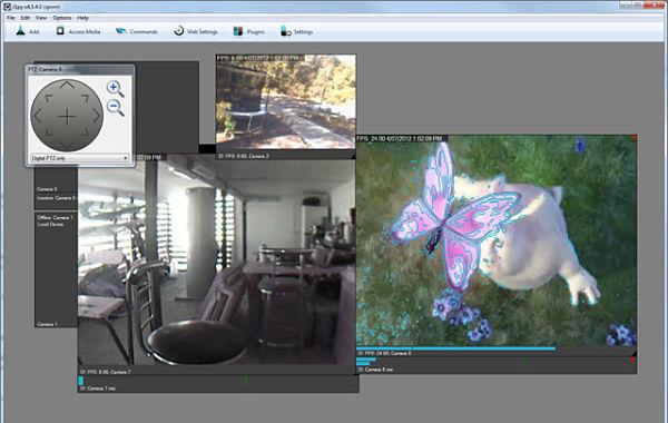 ispy webcam camara vigilancia