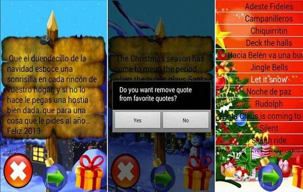 App android con frases originales para felicitar la - Frases para felicitar navidad empresas ...