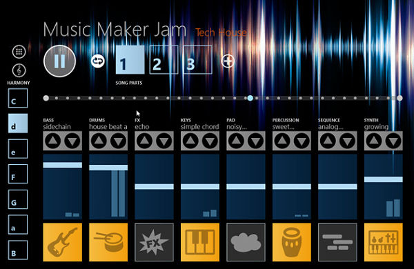 Music Maker Jam musica windows