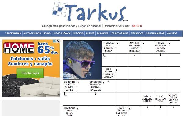 Tarkus Colección De Pasatiempos Clásicos Para Resolver Online