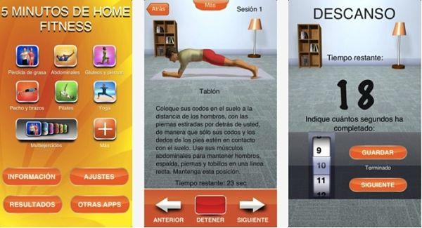 5 minutos de home fitness una 39 app 39 gratuita para hacer ejercicio en casa - Aplicaciones para hacer ejercicio en casa ...