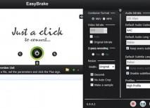 EasyBrake convertir videos