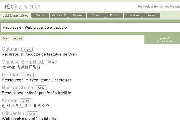 Nice Translator traductor